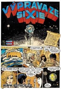 Výprava ze Sixie (komiks) Saudek, Polášek